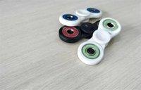 Wholesale 3 Colors ABS HandSpinner Fingertips Spiral Fingers Gyro Torqbar Fidget Spinner Stainless Steel Bearing Hand Spinner hot sale