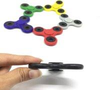 Multicolor best toy box - Best New HandSpinner Fingertips Spiral Fingers Fidget Spinner EDC Hand Spinner Acrylic Plastic Fidgets Toys Gyro Toys With Retail Box