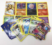 Wholesale 25pcs set Poke Trading Cards Game English Pocket Monsters poke ball Pikachu Cards Poker Battle card Games For Children Learning Toys