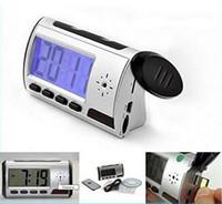 alarm clock nanny cam - Portable Hidden Camera Alarm Clock Spy Camera DVR with Motion Detection Home Surveillance Security Recorder Nanny Cam with No Retail Box
