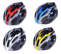 Wholesale Super Light Sports Road Bike Bicycle Cycling Safety Helmet with Visor Carbon Fiber Adult