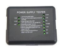 Wholesale New Pin PSU SATA HDD Port PC ATX Power Supply Tester for Desktop PSU Diagnostic Tool
