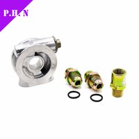 Wholesale OIL COOLER FILTER SANDWICH PLATE THERMOSTAT ADAPTOR AN10 FITTINGS universal fitement in stock and ready to ship