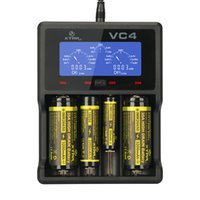 Wholesale XTAR VC4 Charger Universal LCD Screen Display USB Ni MH Ni CD Li ion Battery Battery Charger