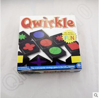 Wholesale New Arrival Qwirkle Board Game Party Family Games Wooden Qwirkle Tiles Kids Toys Table Games With Retail Package CCA5485