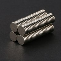 Wholesale 100pcs mm x mm Craft Model Disc Rare Earth Neodymium Super Strong Magnets N50