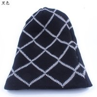 Wholesale The new Hot style Fashionable man outdoor cap Stripe acrylic hip hop knitted capHan edition tide sets wool hat
