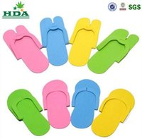beauty slippers - baby kids Slippers HOT Disposable Slipper EVA Foam Salon Spa Slipper Disposable Pedicure thong Slippers Beauty Slippers