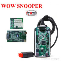 Wholesale TCS CDP Pro no bluetooth Wow Snooper with R2 Keygen software for cars trucks diagnostics tool
