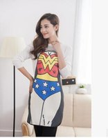 Wholesale Hot Male and female personality FUNNY NOVELTY Superman apron couple party party sexy gift