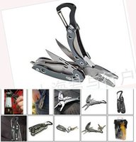 Wholesale High Quality Outdoor EDC tools Multi function Tool Knife Pliers Survival tools Black red grey