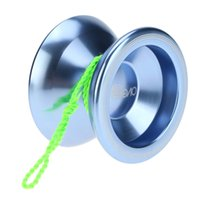aluminum yoyo - 3 Colors Magic Yoyo T5 Overlord Aluminum Alloy Metal Yoyo Professional Ball KK Bearing with String Kids Toys Yoyo for Gift