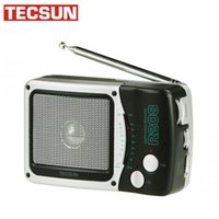 Wholesale Tecsun R208 AM FM Radio Portable Stereo Radio Novel designed FM AM Switch with Earphone Jack