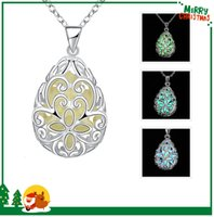 best jade jewelry - YGN007 Fluorescence Jewelry Bohemian Vintage Hollow Out Water Drop Pendant Necklaces For Women Hip Hop Jewellery Best Sellers