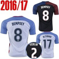Wholesale USA Jerseys United States Shirt DEMPSEY DONOVAN BRADLEY ALTIDORE America Cup Home Away Wholesalers rugby
