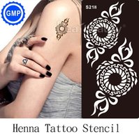airbrush nail supplies - henna tattoo stencil airbrush livros nail gel glitter henna tattoos accessories supplies reuseable stencils for painting S218