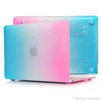 Wholesale Rainbow Texture Laptop Flip Cover Case for Macbook Air inch Pro Retina case A1706 A1707 A1708