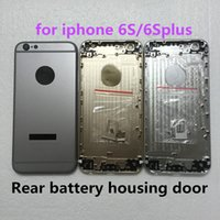 Wholesale For iPhone S SP Plus Back battery Rear cover Housing Metal Frame Assembly High Quality New