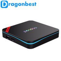 Wholesale TV Box Amlogic S905X Android Marshmallow Quad core X8 pro GB GB Pendoo Kodi Fully Load G WIFI BT4 K H