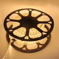 Wholesale 30 M AC V SMD Flexible LED Strip Light LEDs Meter Waterproof IP65 Decoration Light