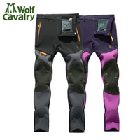 Wholesale New Autumn and winter the couple add a couple of warm and warm waterproof breathable Climbing pants