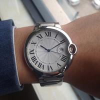 best watch movement - AAA Quality Stainless Steel Luxury Watch Men Watches Top Brand Quartz movement Blue balloon Dial Wristwatch Best Gift For Men