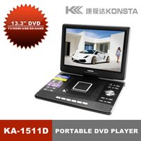 Wholesale Leadstar quot Portable DVD player with USB support D Support card reader and USB