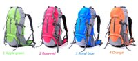 baseball equipment bags backpacks - Male wolf outdoor L backpack men and women general outdoor leisure mountaineering bag riding equipment Backpack