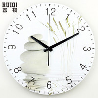 Wholesale large wall clock modern design silent living room d wall decor clock fashion silent wall clock home decoration relojes de pared
