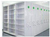 Wholesale 2017 year hot sale Commercial Furniture Compact Steel Archives Mobile Shelving Mobile Shelving System