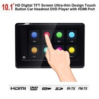 Wholesale Upgraded Inch HD P TFT LCD Touch Screen Headrest Car DVD Player Multimedia Player Raspberry PI Monitor with HDMI Port and Headphone