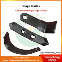 american tractors - HP15 American Tractor Matched Plaugh Sweep Blades Power Tiller Blade
