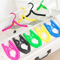 Wholesale 2016 Real Clothes Hanger Hangers Travel Essentials for Portable Washing Equipment Suit Artifact And Outdoor Folding Drying Rack