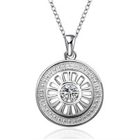 beauty slide - Hot Wanderlust Handstampe Jewelry Travelers Necklace Wanderlust Inspirational Jewelry Round Necklace Beauty Silver Plated Choker Necklace