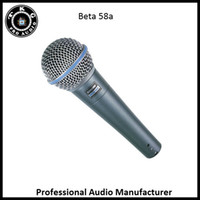 Wired best stage microphone - 2017 best quality professional manufacturer stage karaoke beta wired microphone beta58a mic