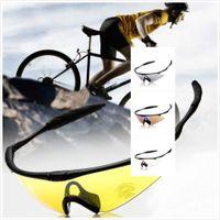 Wholesale New SPOSUNE Fashion Professional Riding Glasses UV400 Cycling Eyewear Unisex Safety Outdoor Car Sports Sunglasses Hiking Sunglasses Glasses