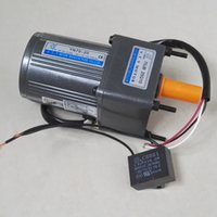 ac motor reducer - Chinese suppliers VTV AC motor Speed reducer mm size W W W geared motor