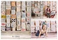 alphabet letter photography - Yame x7ft Vinyl Digital Colourful Alphabet Letters Wood Floor Cage Cell Photography Studio Backdrop Background