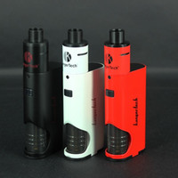 Wholesale Kanger Dripbox Starter Kit W with KangerTech Subdrip Tank ml Dripmod Box Mods Wide Bore Drip Tip Black White Red Color