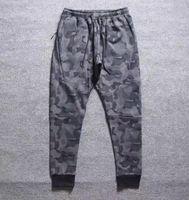 Wholesale NK WINDRUNNER Tech Sphere Full Zip FLEECE CAMO Men pants Sports pants