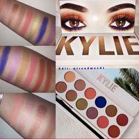 Wholesale Hot New Arrival kylie Eyeshadow Palette KYLIE colors kyshadow Eyeshadow Palette Kylie Jenner Cosmetics Eyeshadow Palette