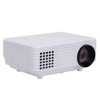 Vente en gros Mini Digital Smart LED Projecteur Home Cinema Théâtre Coréen Projection Machine HDMI VGA Port USB beamer projecteur