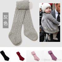 Wholesale 6 colors Popular Baby Pants Baby Girls Cotton Leggings Spring Autumn Pants Wear Children s Leggings Tights