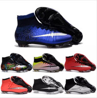Cheap Mid Cut 2017 ACC CR7 Football Shoes Best Men Summer Sale Cleats Cheap Sports Boots