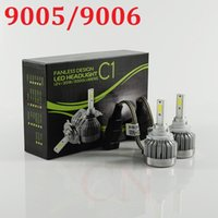Wholesale All in One Car Headlights H7 LED H8 H9 H11 HB3 HB4 H1 Bulb Auto Front Bulb W lm Automobiles Headlamp K K