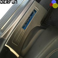 Wholesale Fit For Jaguar F PACE Welcome Pedal Trim Stainless Steel Door Sill Scuff Plate Car Styling Accessories