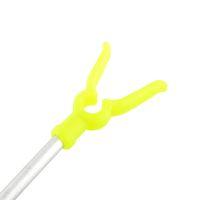 aluminium fishing rod - 2 Sections Adjustable Aluminium Travel Angling Fishing Rod Pole Rack V Holder Support Stand Fish Tackle Kits