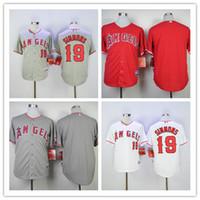 angels baseball uniform - Los Angeles Angels Andrelton Simmons Jersey Flexbase Pujols David Freese Baseball Jerseys LA Angels White Grey Red Team Uniforms