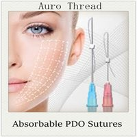 absorbable sutures - Tornado Screw G mm Mono G Absorbable PDO Polydioxanone Suture Thread Pdo Thread Lift Dermal Face Lift Hydraulic Lift