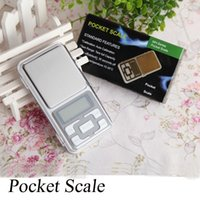 Wholesale Mini Electronic Pocket Scale g g Jewelry Diamond Scale Balance Scale LCD Display with Retail Package OTH311
